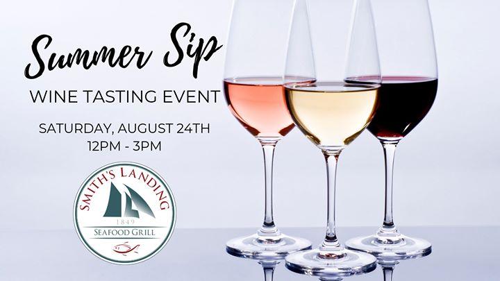 Summer Sip Wine Tasting Event