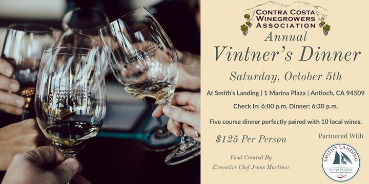 2019 Contra Costa Winegrowers Vintner Dinner