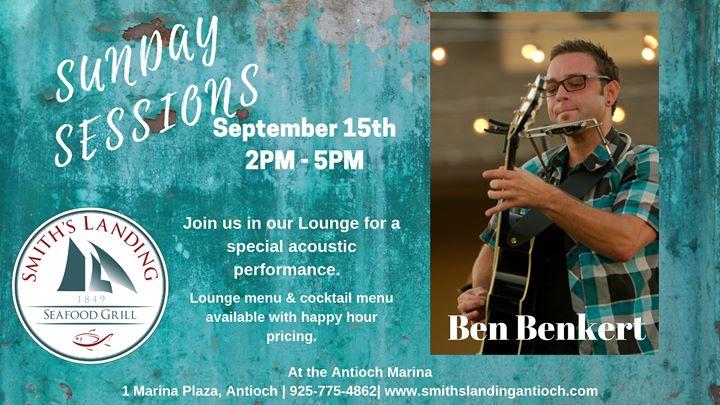 Sunday Sessions featuring Ben Benkert