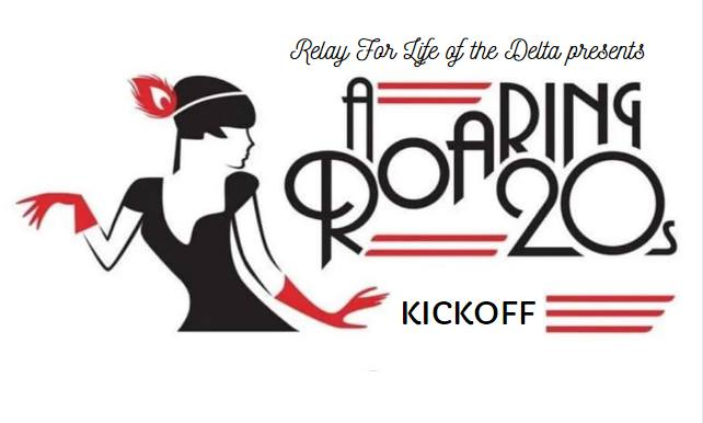 Relay For Life Of The Delta's Roaring 20's Kick Off