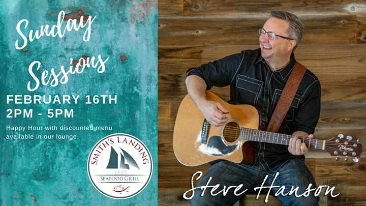 Sunday Sessions featuring Steve Hanson