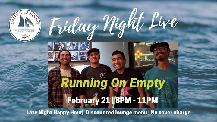 Friday Night Live featuring Running on Empty